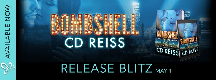 Bombshell Live !  Bombshell an all-new sexy and swoony standalone from CD Reiss is now LIVE!  Bombshell by CD Reiss Publication Date: May 1st 2017 Publisher: Montlake Genre: Contemporary Romance  Synopsis:  Hollywood bad boy Brad Sinclair always gets his way whether its the role he wants or the bikini-clad model he has to have. But when a bombshell gets dropped in his lap in the form of a dimpled five-year-old from a forgotten relationship he knows his life is about to change forever.  Cara…