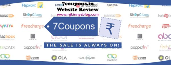 #WebsiteReview: 7coupons for free coupons and offers for online purchases