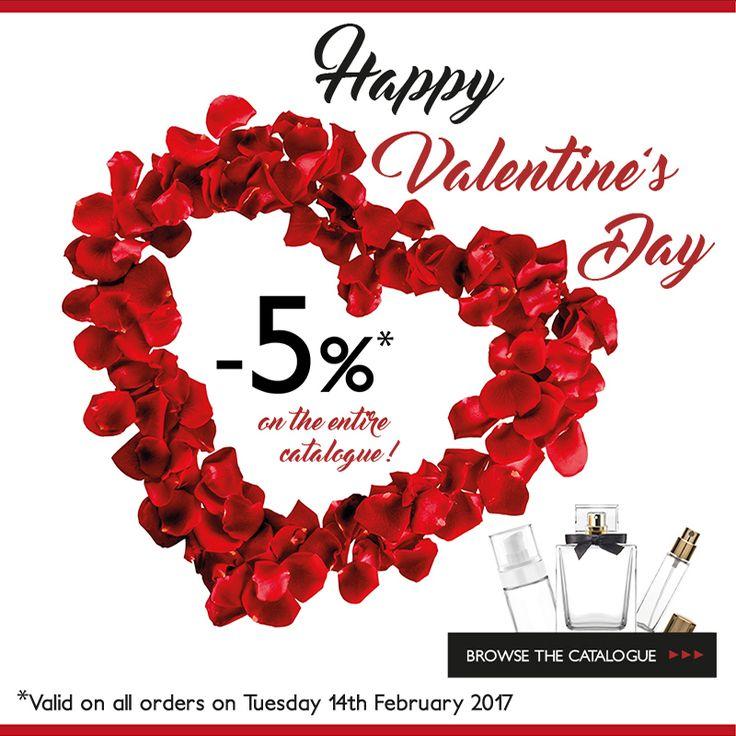 Love is in the... Pack! ❤️ Abbiamo pensato ad un regalo per te: domani -5% di sconto su tutto il nostro catalogo prodotti!   #HappyValentine
