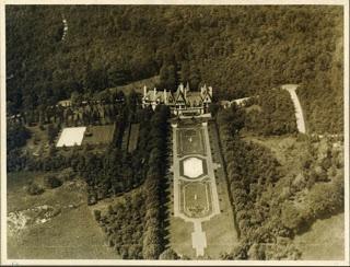 The Virginia Graham Fair Vanderbilt estate designed by John Russell Pope c. 1911.
