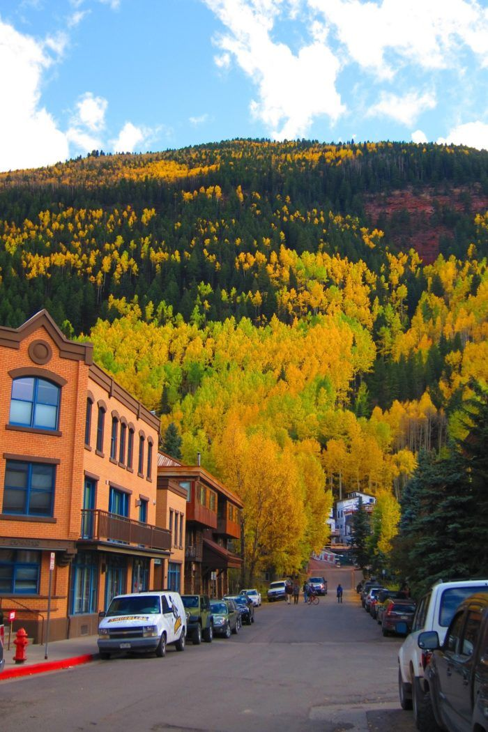 From the beautiful Aspens that frame Main Street in this charming boxed town...