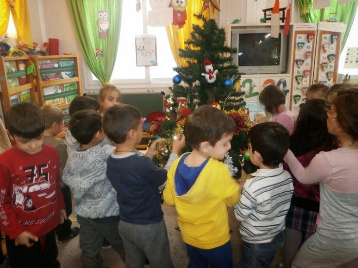 1ο Νηπιαγωγείο Αγ. Μαρίνας Τσαλικάκι: Επιτέλους....πλησιάζουν τα Χριστουγέννα!!