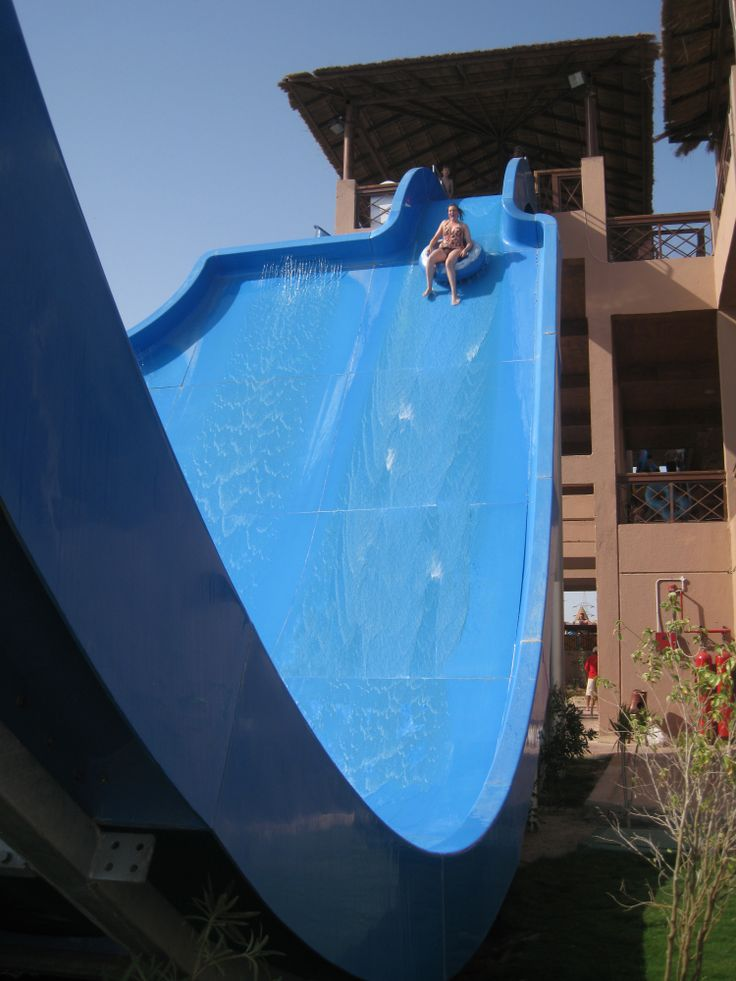 Tsunami at Jungle Aquapark, Hurgada, Egypt