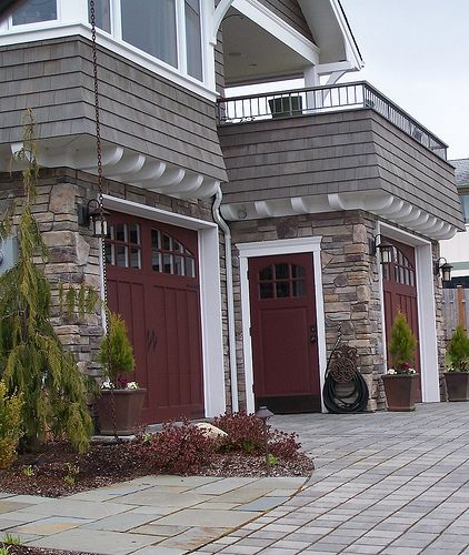 Exterior Front Door Colors: Best 25+ Red Garage Door Ideas On Pinterest