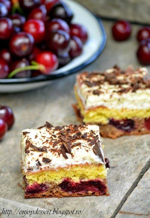 Cherry marscapone cake.