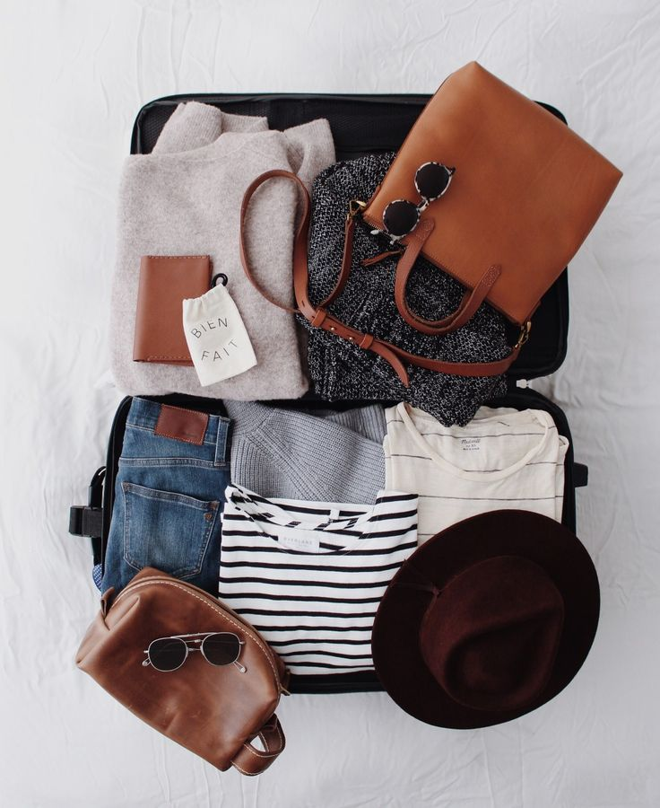 Minimalist but stylish packing list » digital nomad lifestyle, location independence, and travel tips