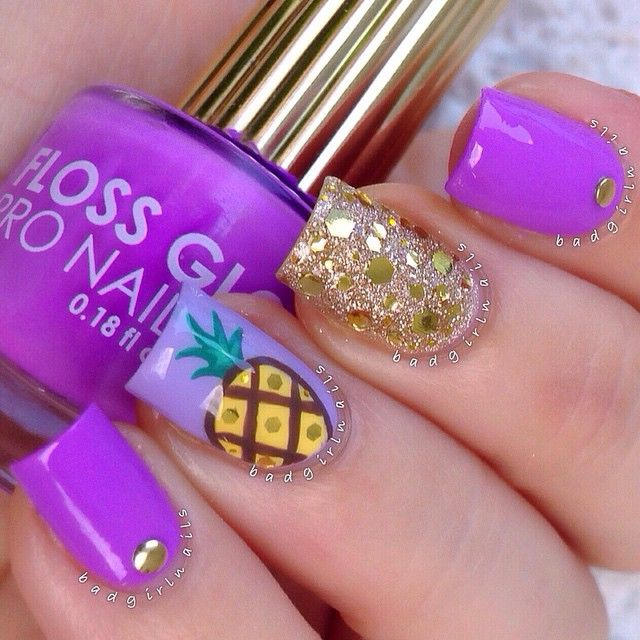 The 25 best pineapple nails ideas on pinterest pineapple nail instagram post by sonia badgirlnails pineapple nailspineapple nail designperfect prinsesfo Choice Image