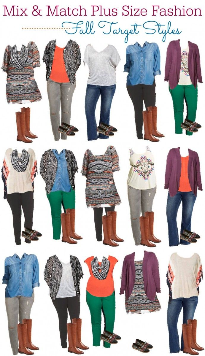 8.31 Mix & Match - Target Plus Size Fall Styles VERTICAL
