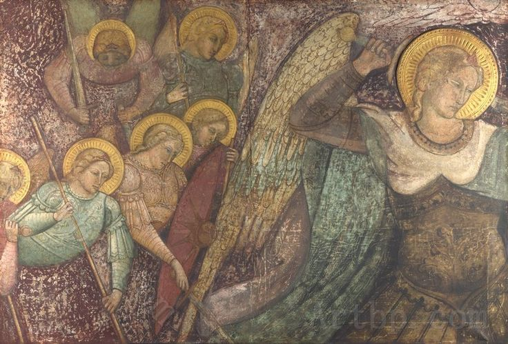 Spinello Aretino Saint Michael and Other Angels