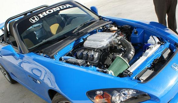 Honda S2000 CR with Acura 3.7 literV-6