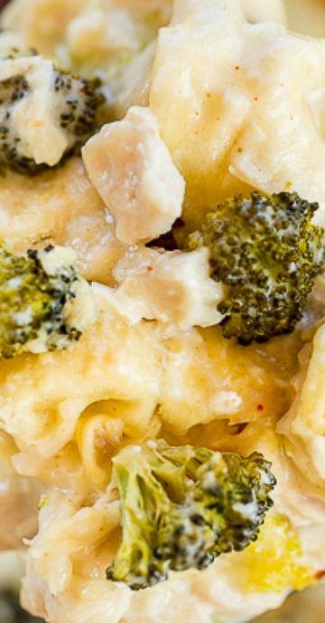Chicken and Broccoli Tortellini Casserole
