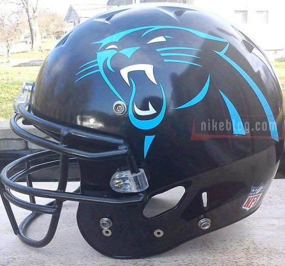 carolina panthers  | ... Photo Of Carolina Panthers Helmet With Giant Logo - Business Insider