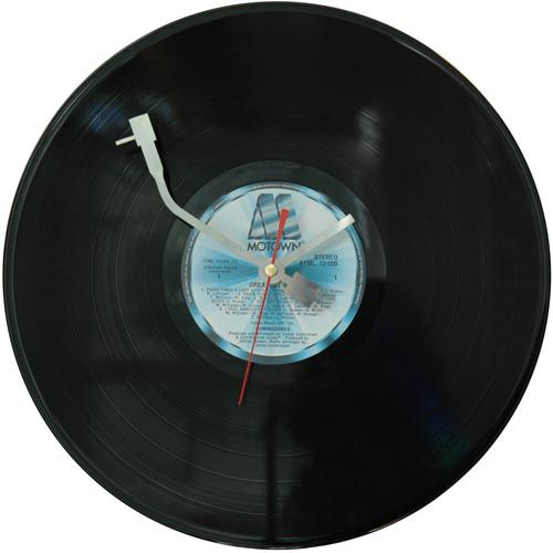 Record clock diy