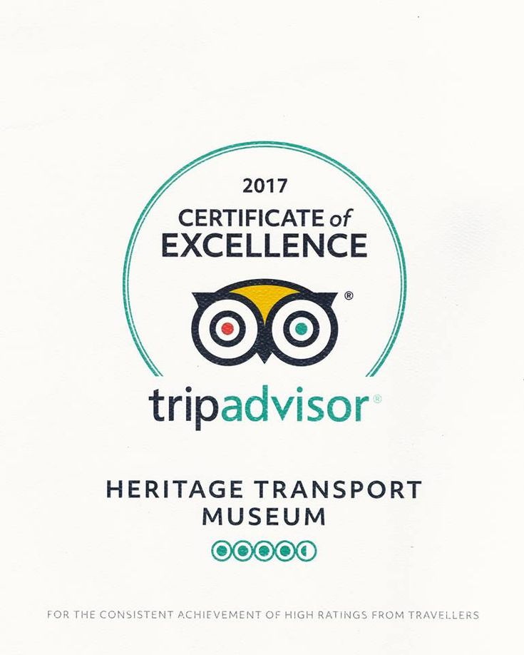 Certificate of Excellence 2017 by Trip Advisor!