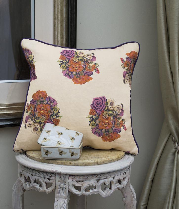 British Bouquet Cushion by Occipinti, £53 Buy here >> http://www.shoptent.co.uk/products/british-bouquet-cushion
