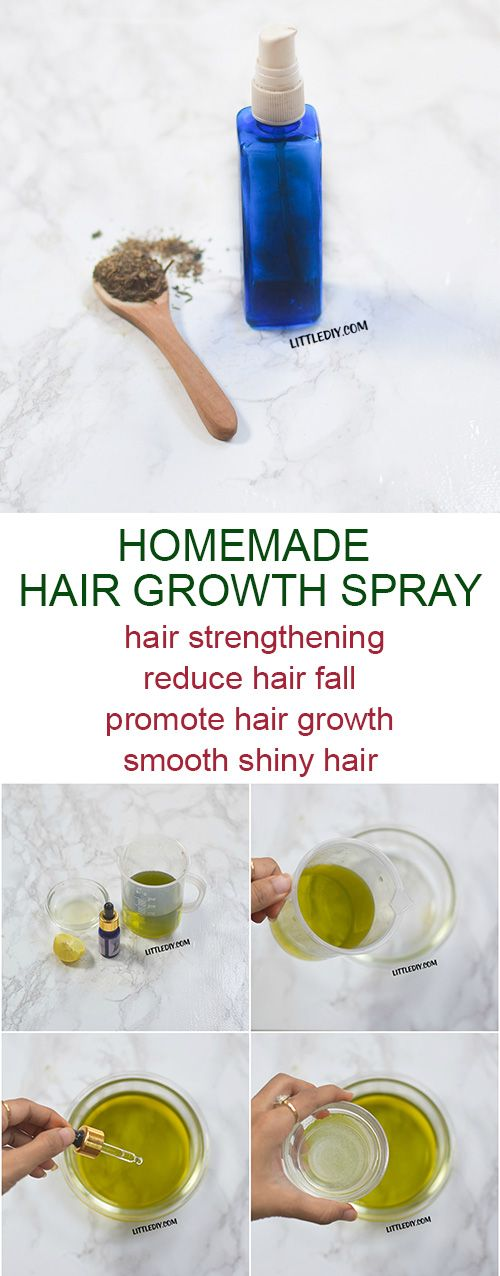 homemade green tea hair spray