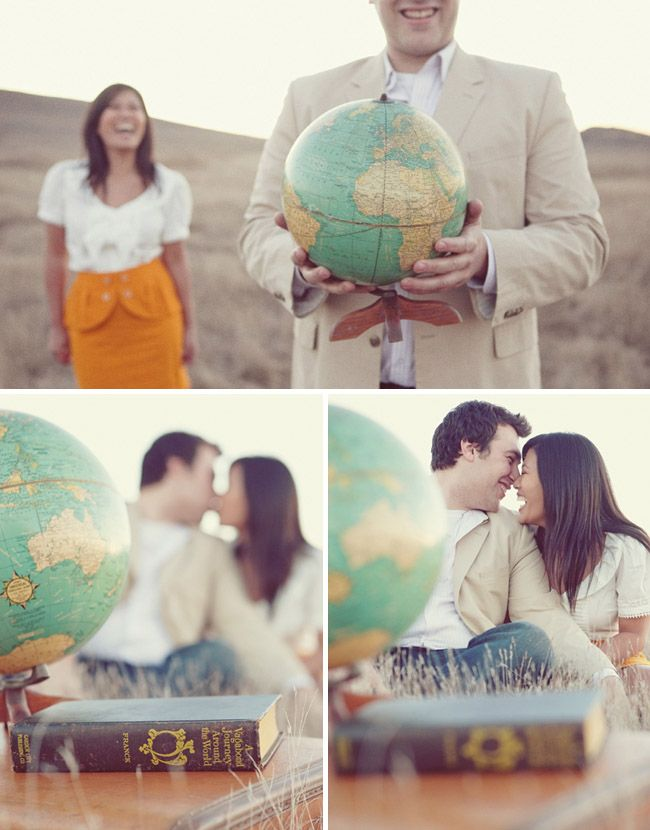 travel theme engagement inspiration...