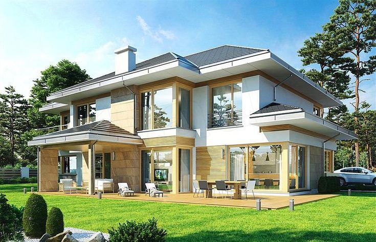 projekt Dom z widokiem E WAH1861