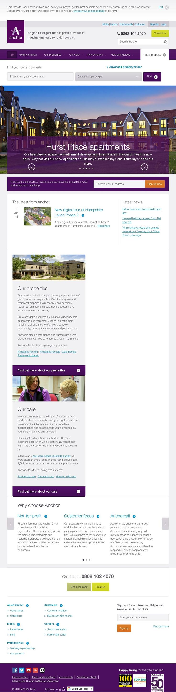 Anchor Trust Housing Associations Societies Trusts & Co-Operatives Barleyfields Shipton Road  York North Yorkshire YO30 5SB | To get more infomration about Anchor Trust, Location Map, Phone numbers, Email, Website please visit http://www.HaiUK.co.uk