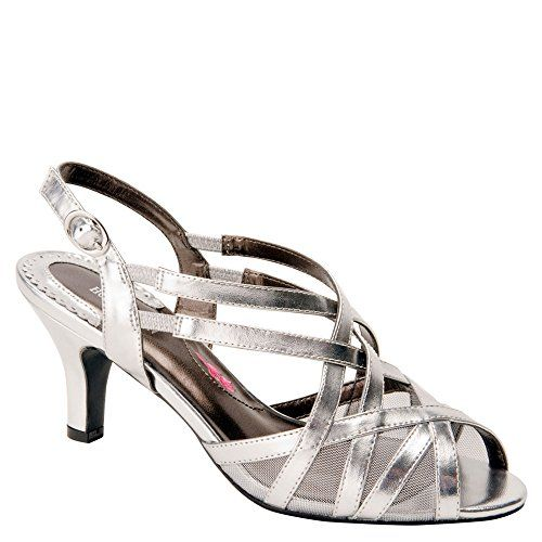 Ros Hommerson Women's Lacey Sandals,Silver,7 M ** You can find more details by visiting the image link.