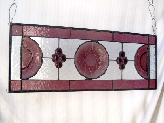 17 Best Images About Stained Glass Vintage Plates On