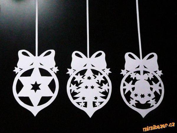 Vánoční vystřihovánky