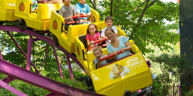 Kings Dominion and Soak City- Virginia's only destination offering two parks for the price of one!