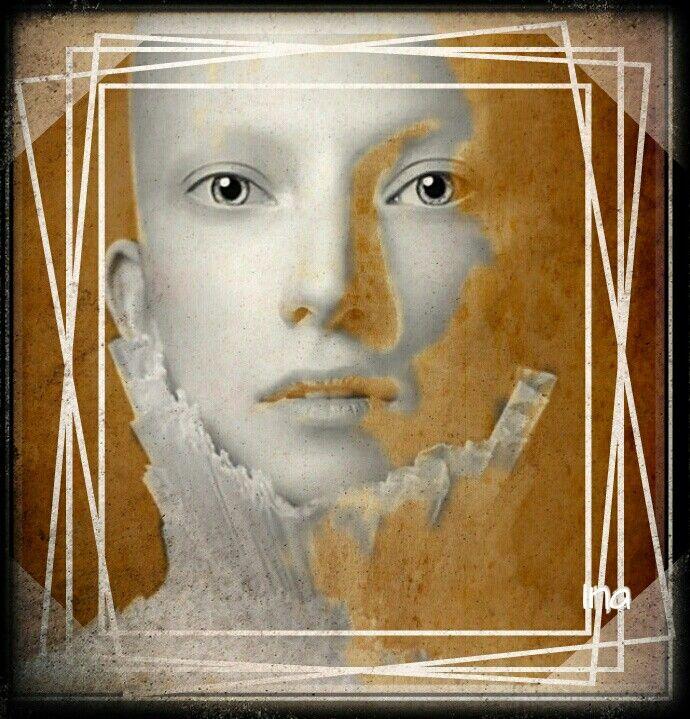 Face in frame