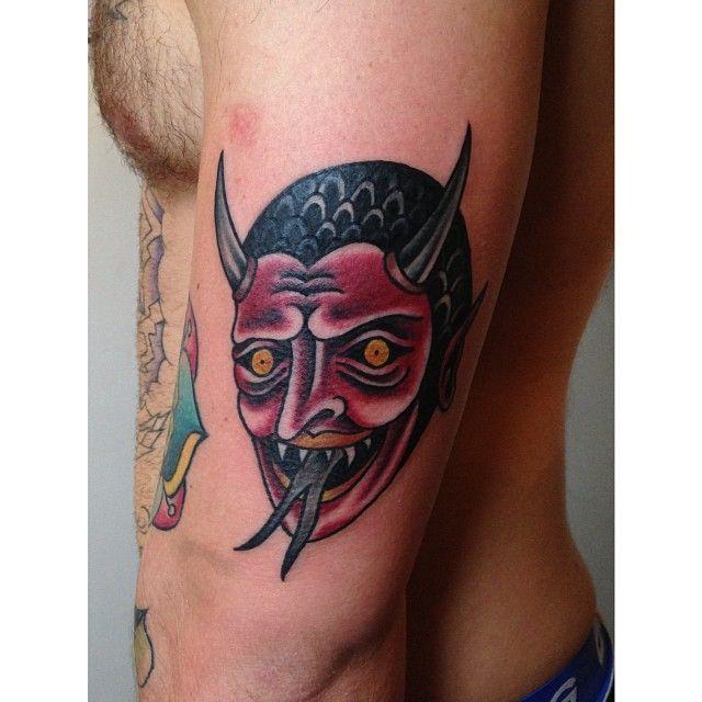 american traditional devil tattoos - Google Search