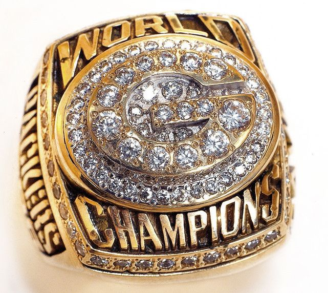 Green Bay Packers - Super Bowl XXXI, 1997 - Super Bowl Rings