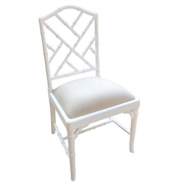 Charlotte Chinese Chippendale Dining Chair (Side and Arm)
