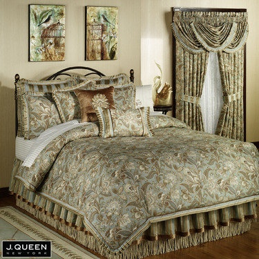 camilla jacobean comforter bedding by j queen new york - J Queen New York Bedding