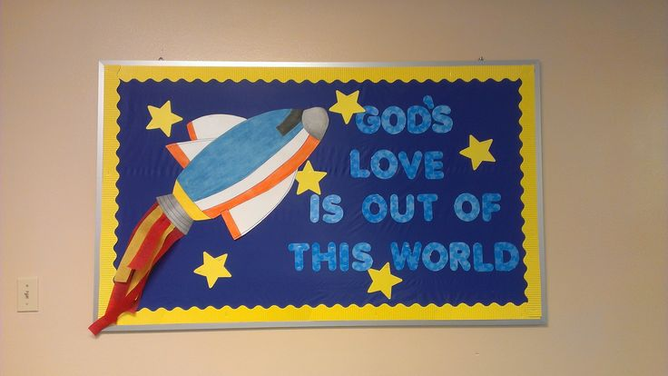 God's Love is out of this World Bulletin Board