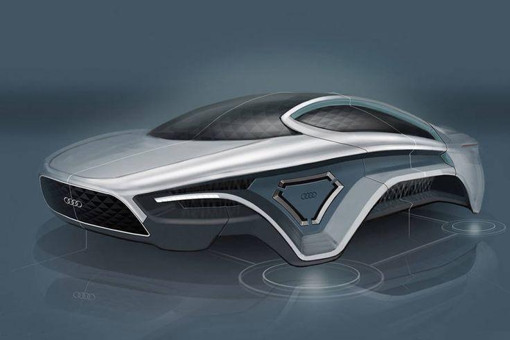 Audi y su auto futurista electromagnético sin ruedas @alvarodabril