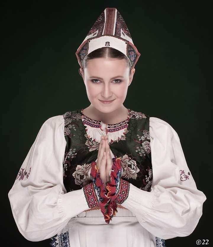 Folk costume from Polomka in Slovakia
