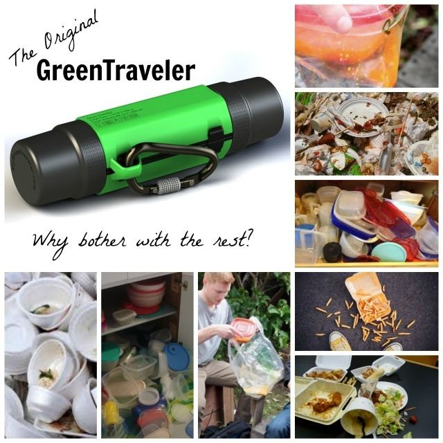 Ditch the unreliable, leaky and wasteful containers and carry your GreenTraveler everyday, everywhere!