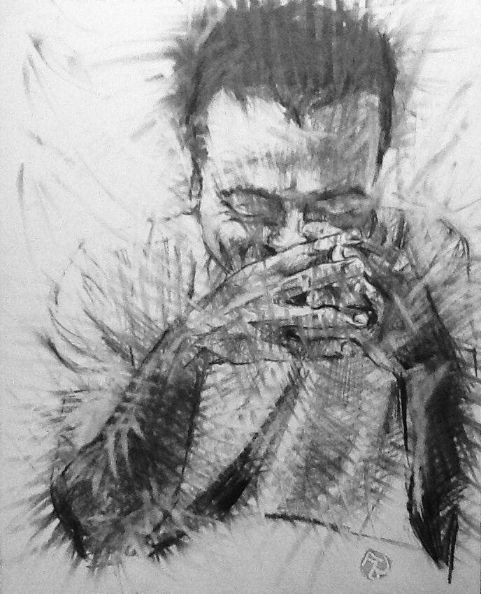 Francesco 1 disegno a grafite