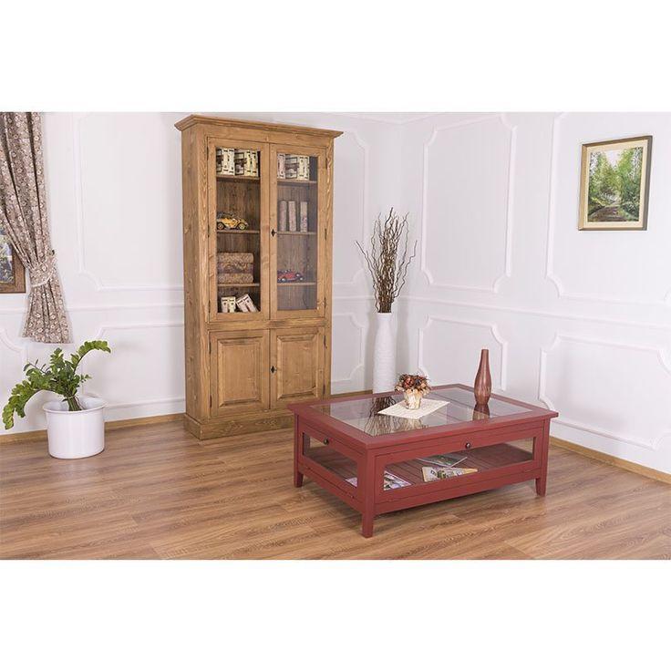 Ława z drewna - kolekcja Charlotte