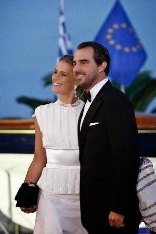 Golden Wedding Anniversary of Konstantin II and Annemarie of Greece  in Piraeus, Greece, 18 September 2014.