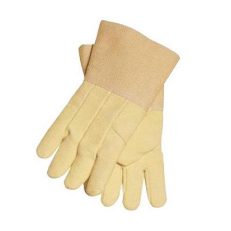 Tillman X-Large Yellow Flextra Unlined Heat Resistant Gloves With Gauntlet Cuff