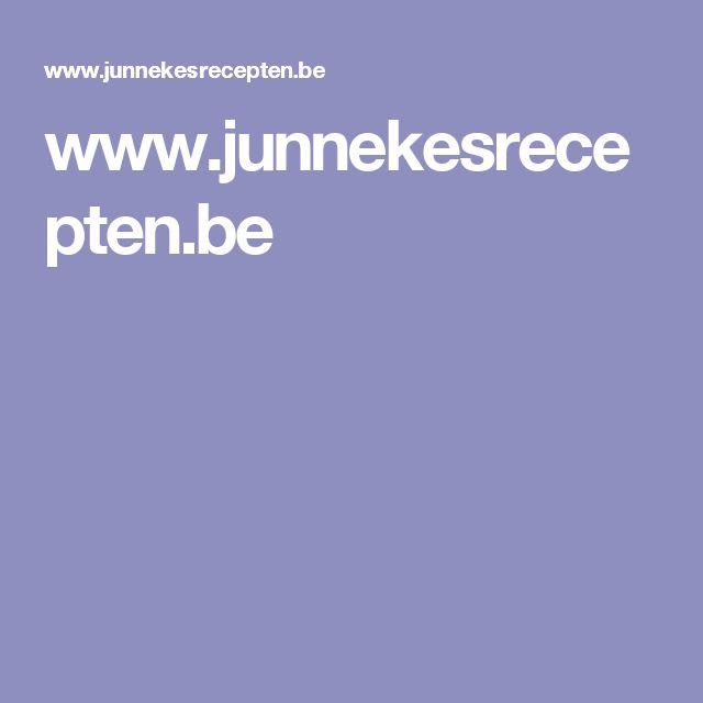 www.junnekesrecepten.be