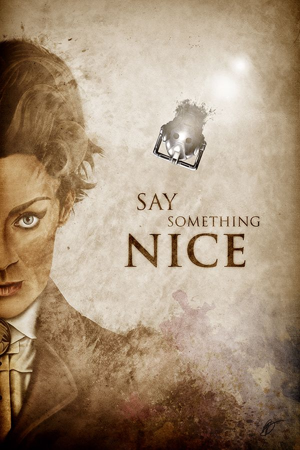 #DoctorWho's #Missy (a.k.a the #Master) with her infamous quote of the season. Very limited print, available on my Etsy store!