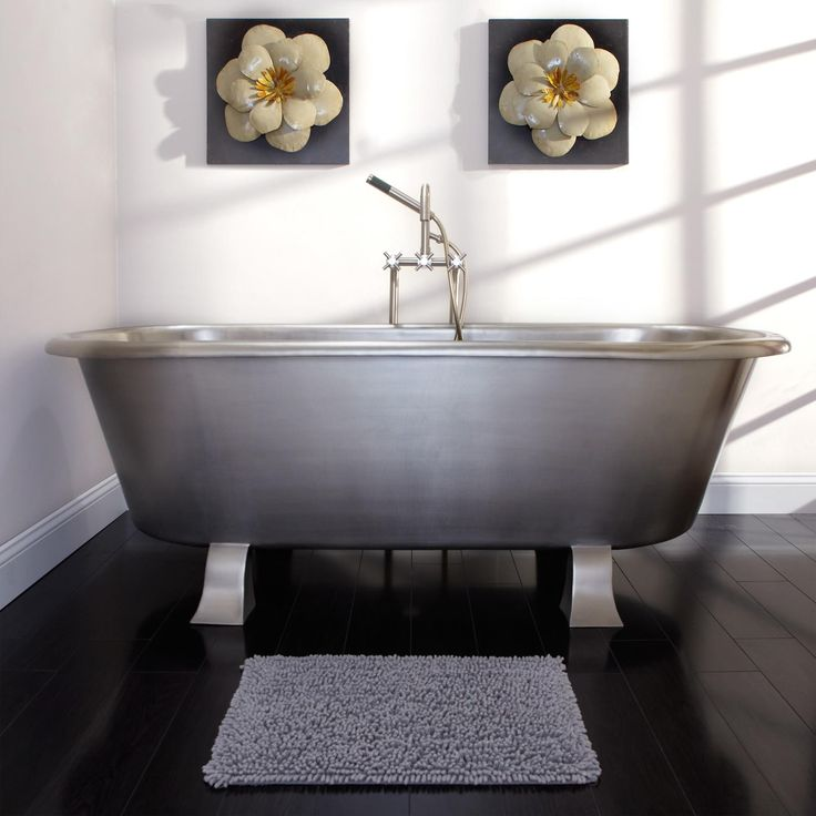 Small Bathrooms With Footed Tub