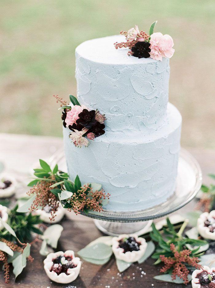 Pastel Wedding Cake With Berry Tarts Taralynn Lawton Photography Http Heyweddinglady