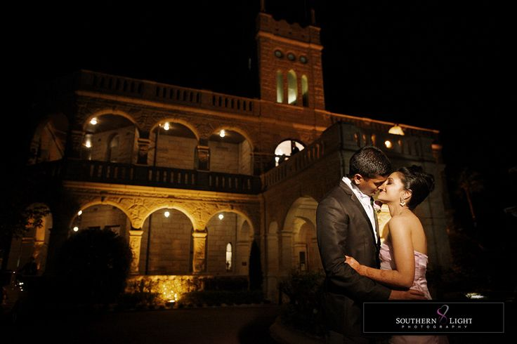 After reception, at Curzon Hall  #indianwedding #wedding #sydney #weddingphotography #curzonhall #bride #groom #night #yellow #orange #kiss