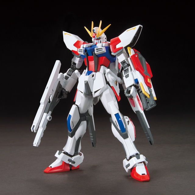 Based on the original Strike Gundam, this fantastic model kit is Reiji's personal suit which was built for him by Sei: Star Build Strike Gundam! As such, the kit comes with the new Universe Booster and the Beam Rifle, two Beam Sabers, shield, two rear Beam Cannons and even a custom display base. You can also open and close the shield and rifle as well as add beam wing effects parts to various part...