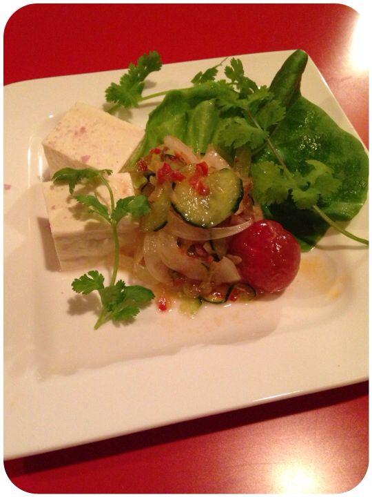Tofu&Vegetable with Sanbal Oelek