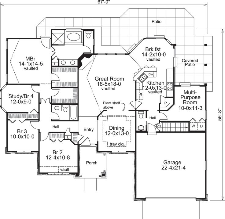 138 1220: Floor Plan Main Level