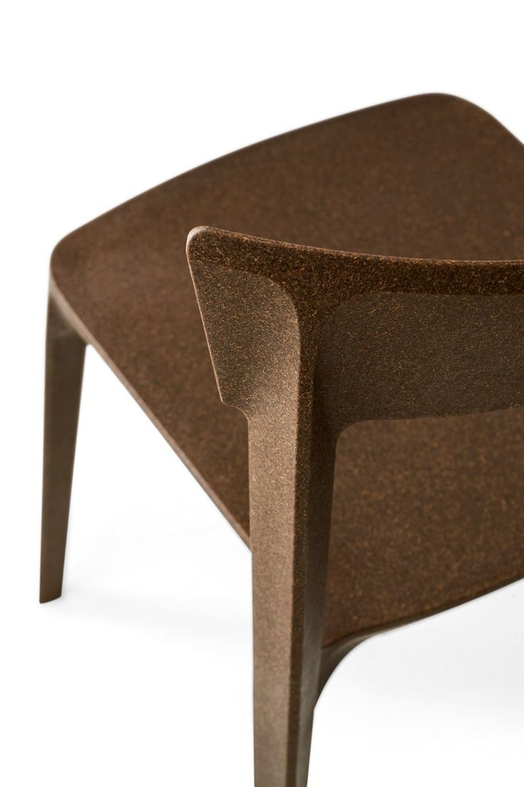 CMF we like / recycling / Chair / brown / at SKIN | Polycarbonate chair by Calligaris