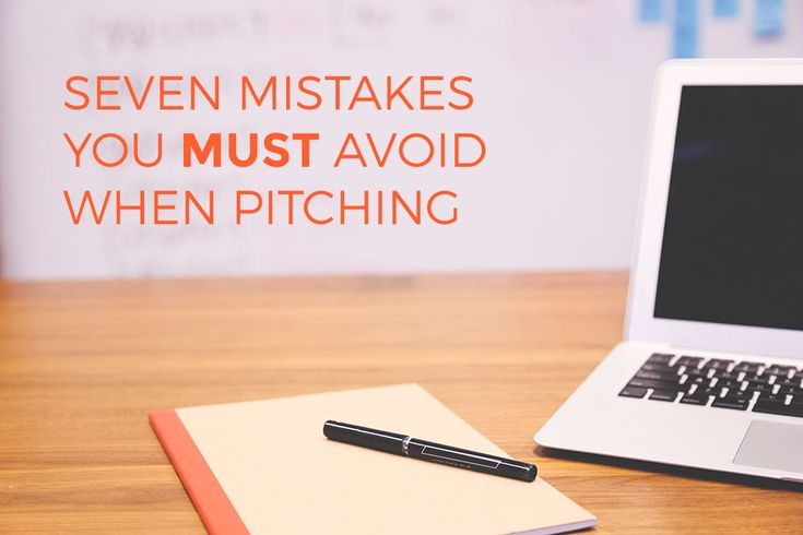 Seven business pitch mistakes you MUST avoid - Talented Ladies Club